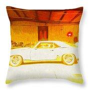 Chevrolet Camaro Throw Pillow