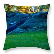 Classic Historic Banquet And Event Home And Backyard Throw Pillow