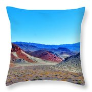 Colors Galore Throw Pillow