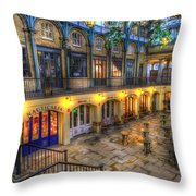 Covent Garden London Throw Pillow