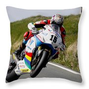 Dan Kneen Throw Pillow