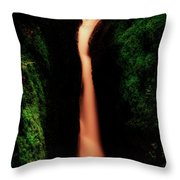 Dollar Glen In Clackmannanshire Throw Pillow