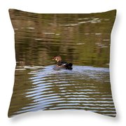 Ducky Throw Pillow