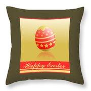 Easter. Throw Pillow