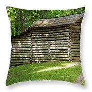 Elijah Oliver Place Throw Pillow