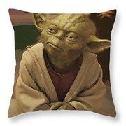 Episode 2 Star Wars Poster Throw Pillow