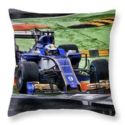 Formula 1 Monza 2017 Throw Pillow