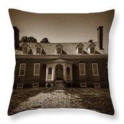George Mason's Gunston Hall Throw Pillow