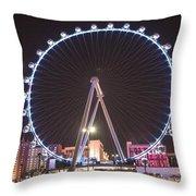 High Roller - Las Vegas Nevada Throw Pillow