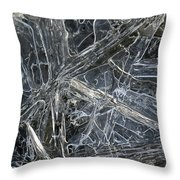 5. Ice Pattern 4, Corbridge Throw Pillow