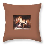 In Disgrace William Henry Midwood Throw Pillow