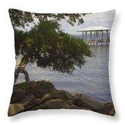 Indian River Lagoon Throw Pillow