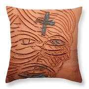 Jesus Christ  - Tile Throw Pillow