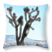 Joshua Tree Throw Pillow