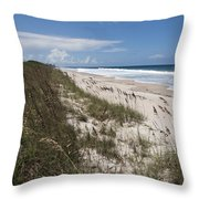 Juan Ponce De Leon Landing Site In Florida Throw Pillow