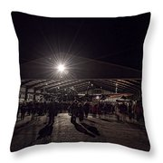 Just Jane Throw Pillow