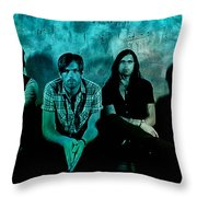 Kings Of Leon Throw Pillow