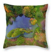 Kingwood Center Gardens Throw Pillow
