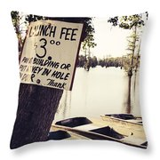 Launch Fee - Toned Throw Pillow