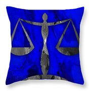 Law Office Collection Throw Pillow