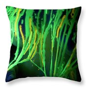 Liquid Latex Throw Pillow