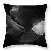 Lower Antelope Canyon Throw Pillow