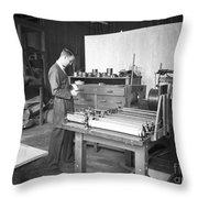 Luis Alvarez, American Physicist Throw Pillow