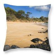 Makena Beach Throw Pillow