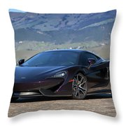 #mclaren #570gt #print Throw Pillow