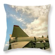 Military Weapons, Ballistic, Anti-aircraft, Medium-range Missile 6 Throw Pillow