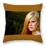 Model Throw Pillow
