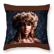 Mood Throw Pillow