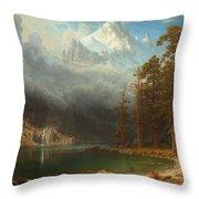 Mount Corcoran Throw Pillow