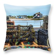 Mudeford - England Throw Pillow