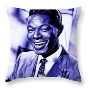 Nat King Cole Collection Throw Pillow