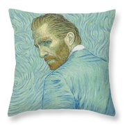 Our Loving Vincent Throw Pillow