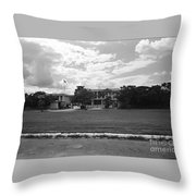 New Delhi India Throw Pillow