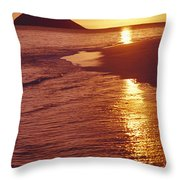 Oahu, Lanikai Beach Throw Pillow