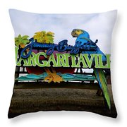 5 O'clock Somewhere Throw Pillow