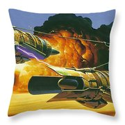 Original Star Wars Art Throw Pillow