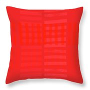 Overtly Subtle Throw Pillow