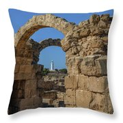 Paphos Archaeological Park - Cyprus Throw Pillow
