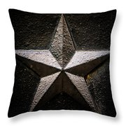 5-pointed Star Throw Pillow