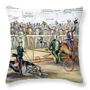Presidential Campaign Throw Pillow