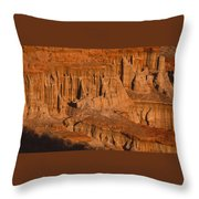 Red Cliffs  Throw Pillow
