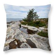 Sammo Island Throw Pillow
