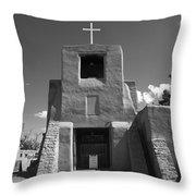 Santa Fe - San Miguel Chapel Throw Pillow