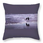 Sea Birds Throw Pillow