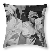 Shopping Windows Throw Pillow