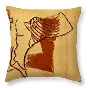Sign - Tile Throw Pillow